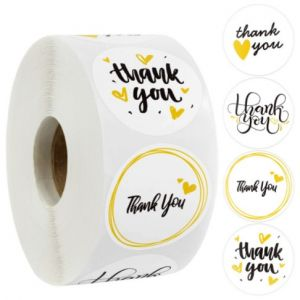 Thank You for Celebriting with Us Stickers | TY026 | Thank You Party Favors Stickers