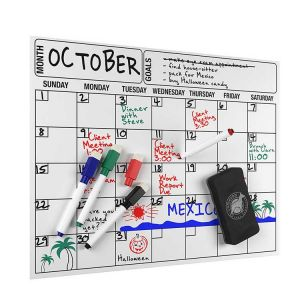 Monthly Whiteboard Calendar | Fridge Planners | Magnetic Calendars