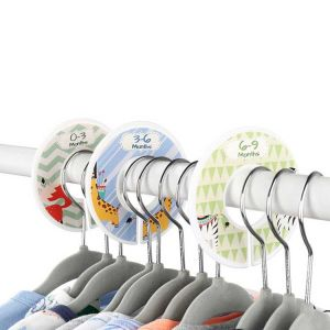 Baby Age Dividers | Nursery Clothes Dividers | Baby Clothes Dividers