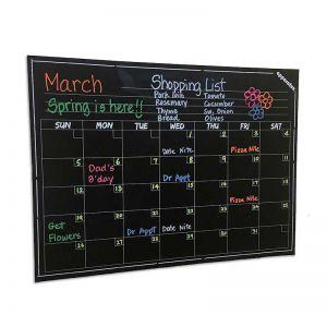 Magnetic Wall Calendar | Calendar Marker Board | Large Magnetic Dry Erase Calender