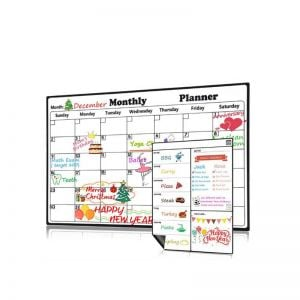 Family Calendar Whiteboard | Personalized Calendar Magnets | Magnetic Family Calendar