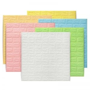Wall Tile Stickers | 3D Tile Stickers | White Tile Stickers