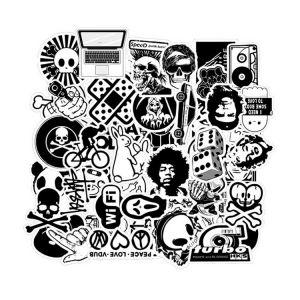 Black Sticker Bomb | Custom Sticker Bomb | Black White Sticker Bomb