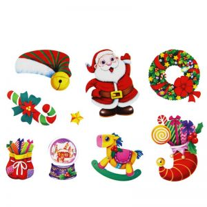 Christmas Present Stickers | Christmas Decals for Glass | Christmas Stickers