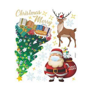 Christmas Door Stickers | Christmas Aesthetic Stickers | Christmas Sticker
