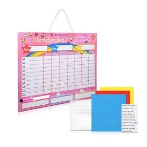 Girls Reward Chart | Girls Sticker Chart