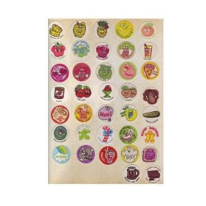 Scratch and sniff sticker manufacturer | Custom Scratch and sniff sticker book
