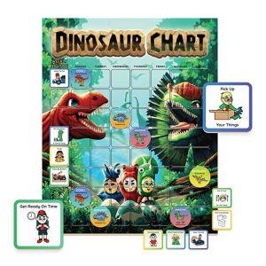 Dinosaur Reward Chart | Dinosaur Sticker Chart