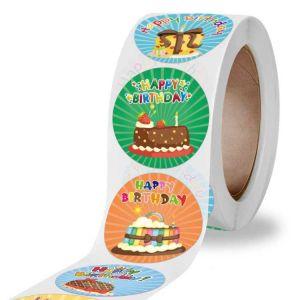 Happy Birthday Cake Stickers | Cute Birthday Sticers | Happy Birthday Sticker