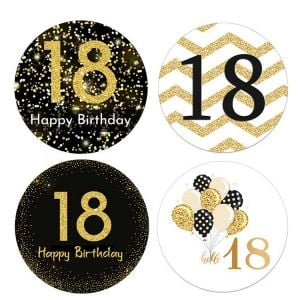 Happy 18th Birthday Stickers | Happy Birthday Sticker | Funny Happy Birthday Stickers