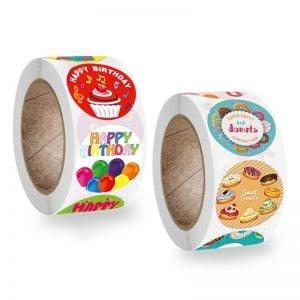 Happy Birthday Party Stickers | Cute Happy Birthday Stickers | Best Birthday Stickers