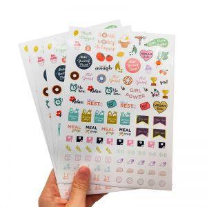Bullet Journal Stickers | Printable Planner Stickers | Planner Stickers