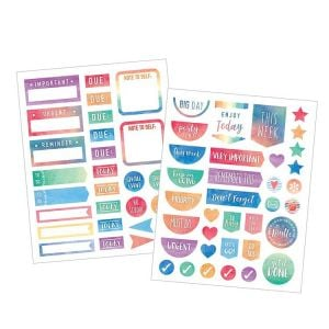 Diary Stickers | Cute Planner Stickers |  Daily Planner Stickers