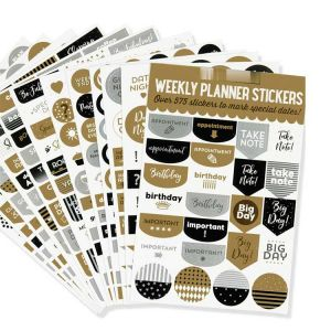 Weekly Planner Stickers | Happy Planner Student Stickers | Planner Stickers