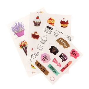 Washi Sticker | Custom Printed Paper Washi Sticker Sheet