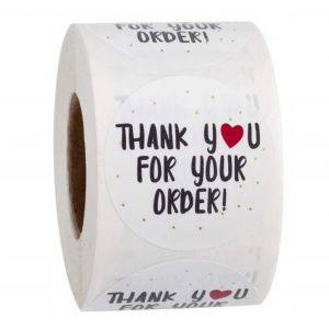 Thank Your for Your Order Stickers | TY003 | Thank You Business Stickers
