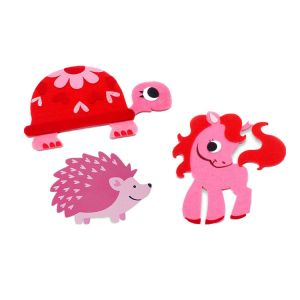 Felt Animal Stickers  | Felt Craft for Kid
