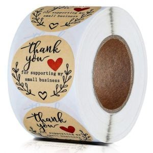 Thank You for Your Support Stickers | TY037 | Gift Labels