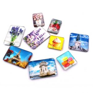 Glass Photo Magnets | Glass Fridege Magnets