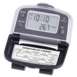 Cheap Print 5-Function Promotional Pedometer Print Company