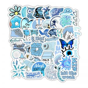 Blue Phone Case Stickers |  Phone Stickers for Cases
