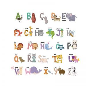 Alphabet Wall Stickers | Home Wall Stickers