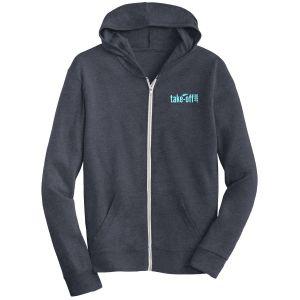 Lowest Price Alternative Eco-Jersey Full Zip Custom Hoodie - Darks Best Printing Supplier