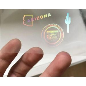 Custom Arizona Hologram Overlay Stickers | AZ ID Hologram Overlay