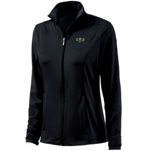 Buy Charles River Embroidered Fitness Jacket - Youth Printing Factory