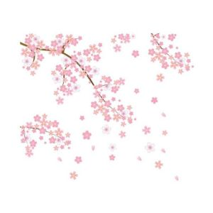 Cherry Blossom Wall Stickers | Beautiful Wall Stickers