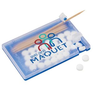 Cheap Manufacture Custom Mints and Toothpick Dispenser - Business Card Dependable Print Company