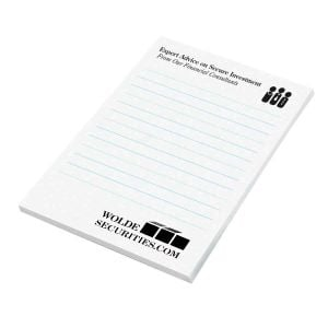 "Cheapest Custom Post-it Notes - 50 Sheets - 4""w x 6""h At Lowest Price"