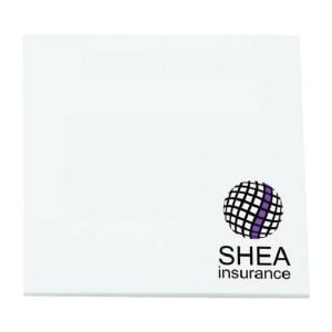 """Cheapest Custom Post-it Notes - 50 Sheets - 3""""w x 3""""h Dependable Printing Company"""