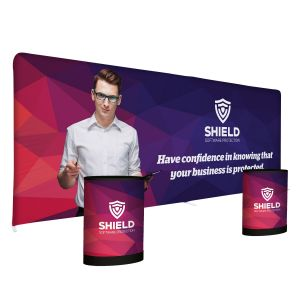 Cheap Print Custom Publicity Pro Total Show Package - 20' At Low Price