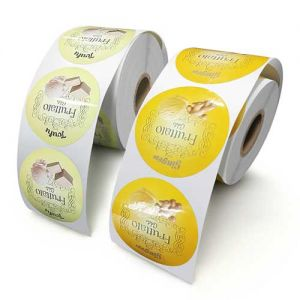 Custom Roll Labels | Custom Round Stickers on A Roll