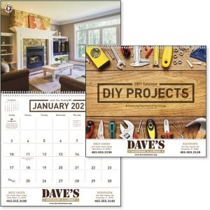 Cheap DIY Projects - 12 Month Appointment Custom Calendar - Spiral Best Printing Store