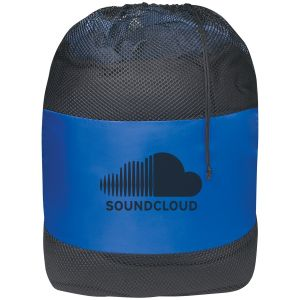 "Reasonable Priced Drawstring Mesh Custom Laundry Bags - 25""w x 36""h Top Print Store"