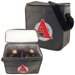Economical Produce Non-Woven Insulated Cooler Bags - 64 oz. Top Print Manufacturer
