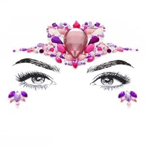 Face Jewelry Stickers | Rhinestone Body Stickers