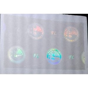 Custom Florida Hologram Overlay Stickers | FL ID Hologram Overlay