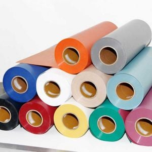 Flocked Heat Transfer Vinyl | HTV Vinyl Rolls
