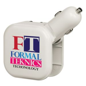 Economical Manufacture Full Color 2-in-1 USB/AC Customized Chargers w/ Dual USB Ports Dependable Print Factory