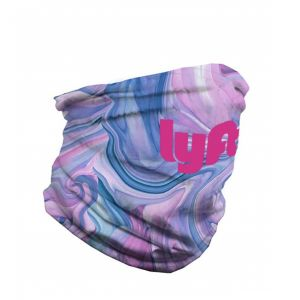 """Cheapest Full Color Antimicrobial Custom Bandana Tube - 10""""w x 20""""h At a Discount"""