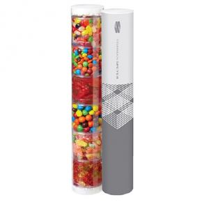 Personalized Full Color Assorted Candies in Custom Tube Packaging At Lowest Price