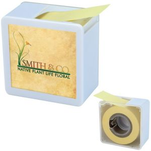Economical Produce Full Color Custom Sticky Note Tape Dispenser Best Printing Company