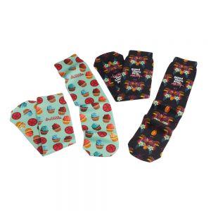 "Personalised Full Color Custom Tube Socks - 17"" - Pair Dependable Print Supplier"