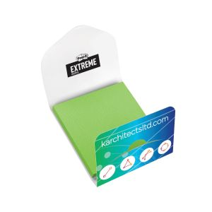 """Personalised Full Color Custom Post-it Extreme Notes w/ Cover - 45 Sheets - 3""""w x 3""""h Top Print Store"""