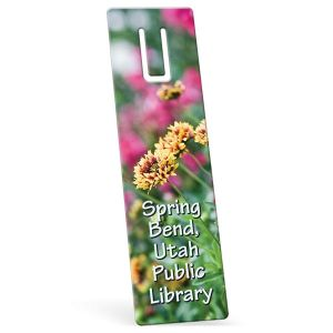 """Reasonable Priced Full Color Custom Bookmark w/ Page Slot - 2"""" w x 7"""" h Dependable Printing Factory"""