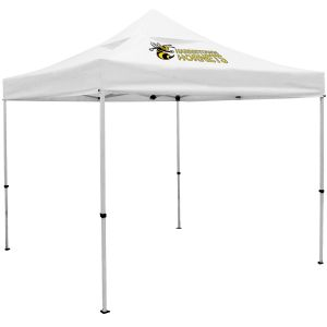 Economical Manufacture Full Color Deluxe Trade Show Booth Custom Tents w/ Vented Canopy - 10' Top Printing Supplier