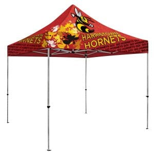 Economical Produce Full Color Deluxe Trade Show Booth Custom Tents - 10' Top Print Manufacturer